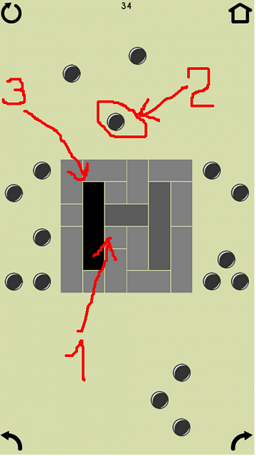 [Game] Don't be, square! - New relaxing puzzle game.-how2.png