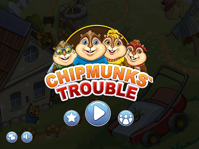 Chipmunks' Trouble — difficult puzzle about chipmunks-1.jpg