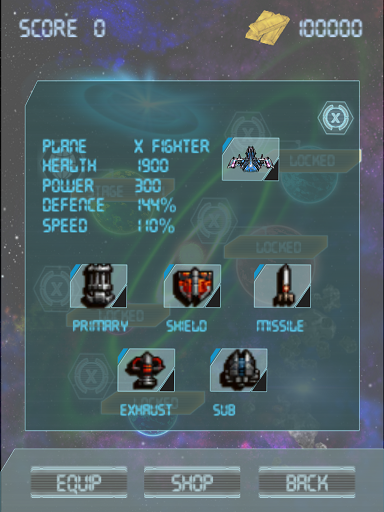 [Game] Arcade Shooting - Galaxy Fighter Z - Free-screenshot-equip.png