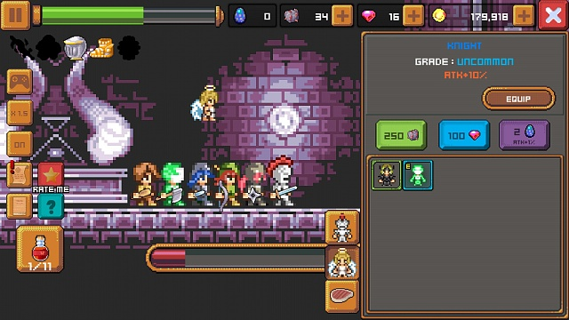 [Free][Game] TAP KNIGHT AND THE DARK CASTLE - An epic clicker RPG runner with pixel graphics-tap-knight-dark-castle-update-v1.0.0-4.jpg
