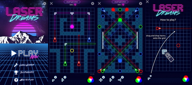 [FREE GAME] Laser Dreams - Challenging puzzle game with retro 80s techno music-laser-dreams-screenshots.jpg