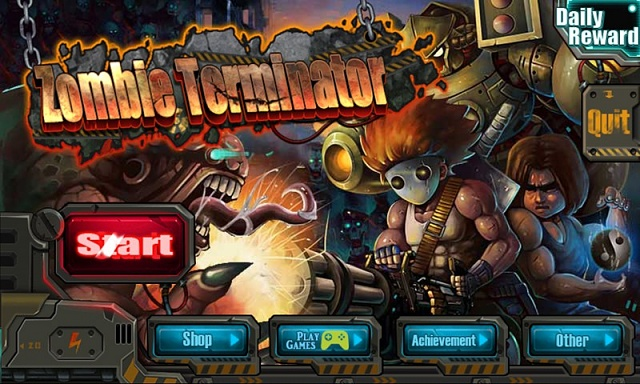 [Free][Game] ZOMBIE TERMINATOR - A classic 2D side-scrolling shooter game!-zombie-terminator-game-screen-1.jpg