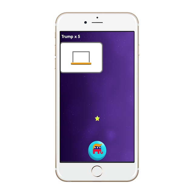 [ Trump Game ] [ Free ] Trump Dump Basketball - Let's fun with Trump-screenshot_2016-07-07-09-40-13_iphone6plus_gold_portrait.jpg