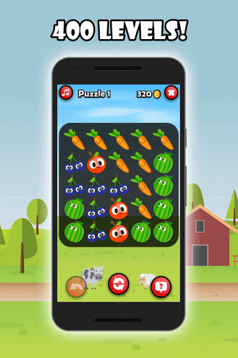 [Free Game] Farm Puzzle Heroes - Harvest your crops-ss1.png