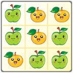 [FREE][GAME] Fruits Tic Tac Toe with more than 50 levels of fun-ic_launcher.png