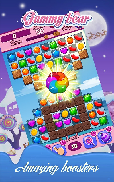 [FREE GAME] Jelly Gummy Bear - match 3 puzzle game.-1.jpg