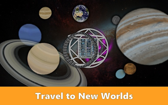 [Free][No Ads] Be the captain of a science starship in Cosmic Crew!-cosmiccrew_screen1.jpg