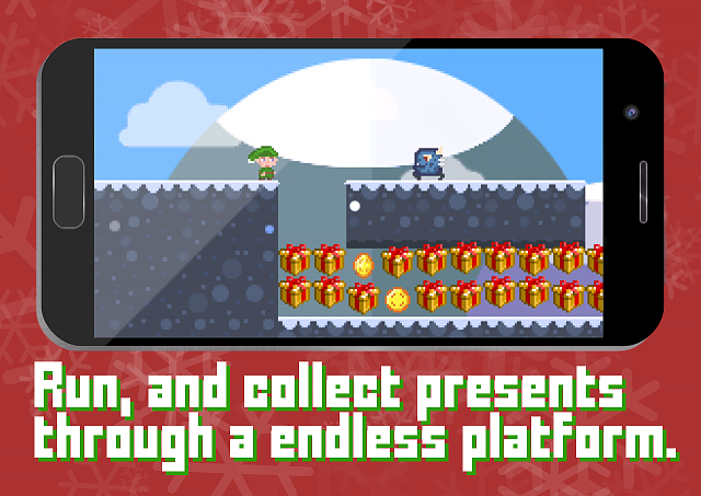 [Free][Action/Adventure] Elf Panic - FREE PROMO CODES - Holiday Platformer-elfpanic_screen1.png