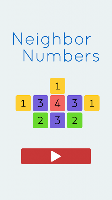 Unique puzzle game: Neighbor Numbers-adsiz.png
