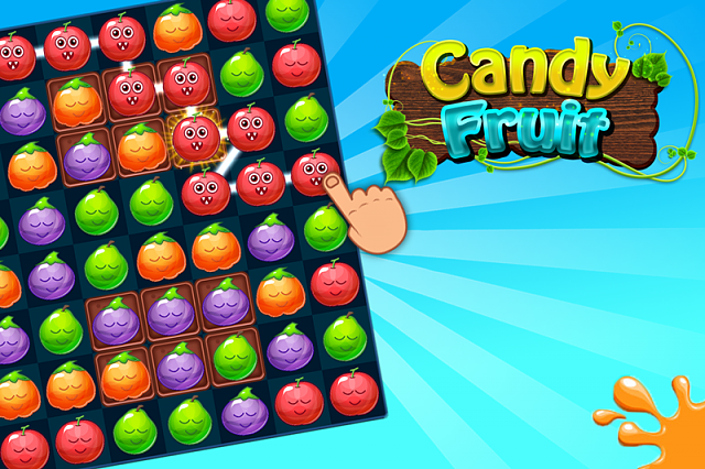 free game - Candy fruit match 3 game-scren2.png