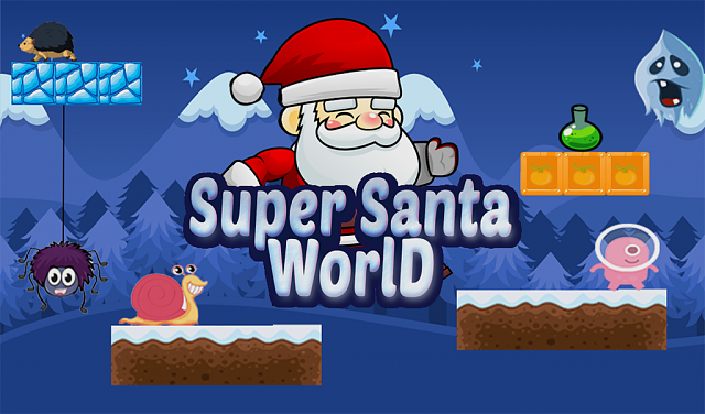 best game of Christmastime :: Super Adventure of Santa World ::  free-565817798.png