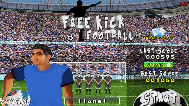 games free kick football