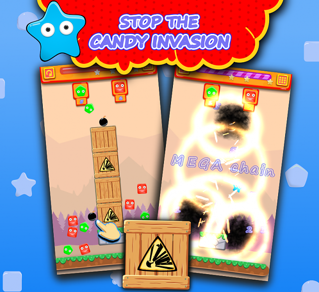 [FREE GAME] BonBon Bomb - Explosive Fun With Bombs and Candies-promo_stop.png
