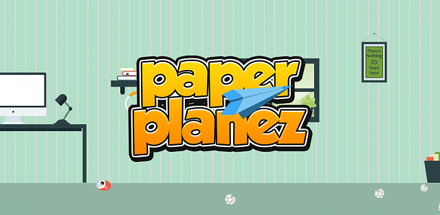 [Game][1.2+][Full release] Paper Planez - Make the little Paper Plane fly!-feature_graphics.png