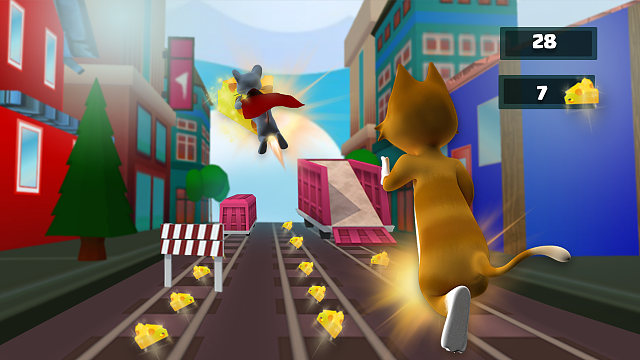 Subway Tom Cheese Chase - Fun Android Game-2.png