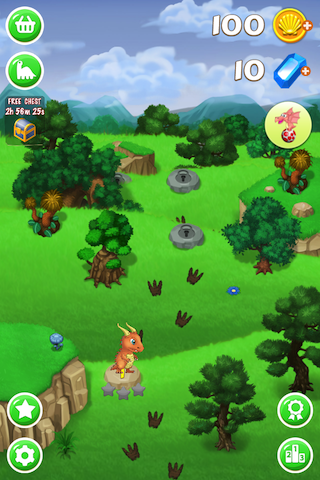 Dino Eggs Saga- Join great adventure, rescue dinosaur friends! Shoot to match 3 eggs-ip4-pic_3.png