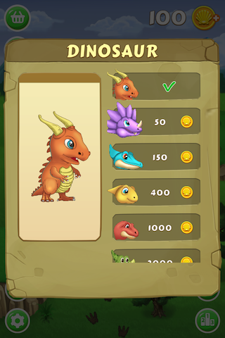 Dino Eggs Saga- Join great adventure, rescue dinosaur friends! Shoot to match 3 eggs-ip4-pic_4.png