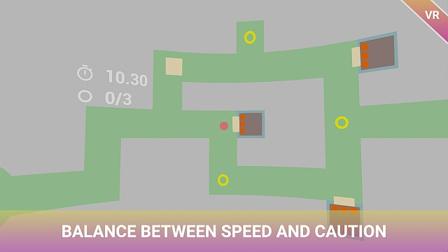 [FREE][VR][GAME] Awesome Maze: Round World VR - Now Available!-4.-balance-between-speed-caution.jpg