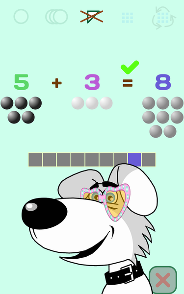 [FREE][GAME][2.3.6+] Addition and digits for kids+-3-add-2-3_glasses_hart.png