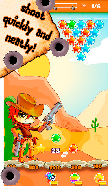 Cowboy Johnny Bubble Shooter [Arcade,Casual]-3.png