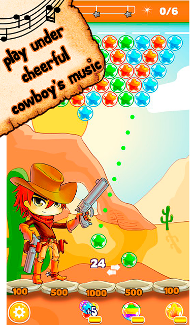 Cowboy Johnny Bubble Shooter [Arcade,Casual]-4.png