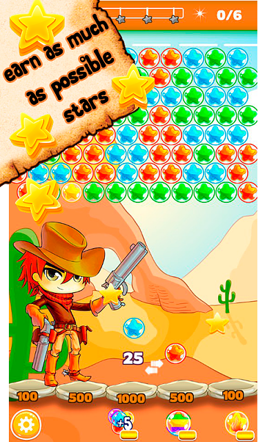 Cowboy Johnny Bubble Shooter [Arcade,Casual]-5.png