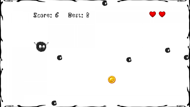 Simple and almost impassable arcade: Greedy Fly Arcade-1.png