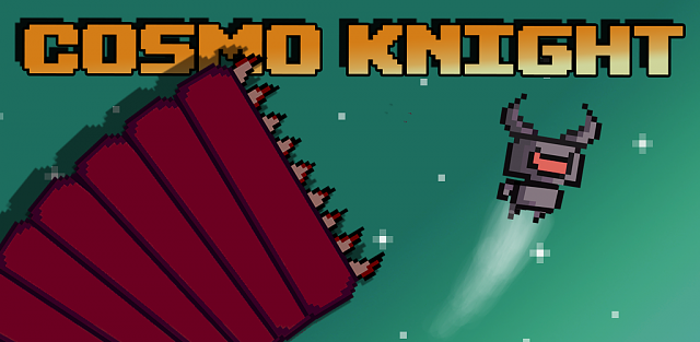 Cosmo Knight - A Challenging Arcade With Pixel Art Graphics-spaceknight-store.png