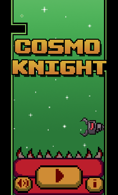 Cosmo Knight - A Challenging Arcade With Pixel Art Graphics-screen1_03.png