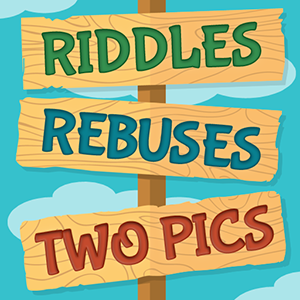 Riddles, Rebus Puzzles and Two Pics-logo-300.png