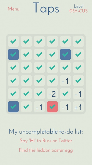 [Free] Taps [Android Game] [Puzzle]-singlegridmode.jpg