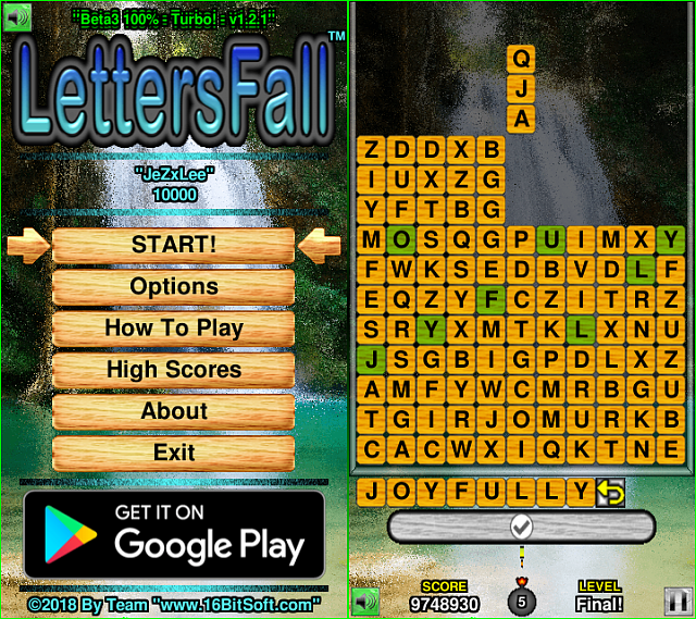 """LettersFall 110%™"" - 100% FREE Android Game - Need Feedback!-lf110-promo-turbob3.png"