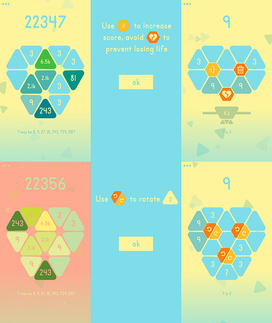 [GAME][FREE][4.0.3+] Triii - game about triangles and the number 3-screenmix720x853.png