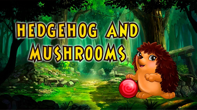 [free, puzzle] Hedgehog and Mushrooms-1280.jpg