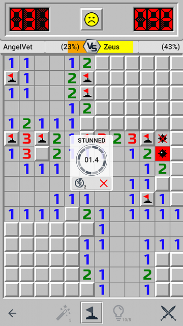 [GAME][FREE][4.0.3+] Minesweeper GO - classic puzzle-screenshot_2018-11-06-18-20-01-691_com.evolvegames.minesweepergo.png