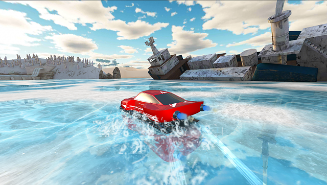 [FREE GAME]Winter Racing: Jet Thrust[3D]-screen_4.png