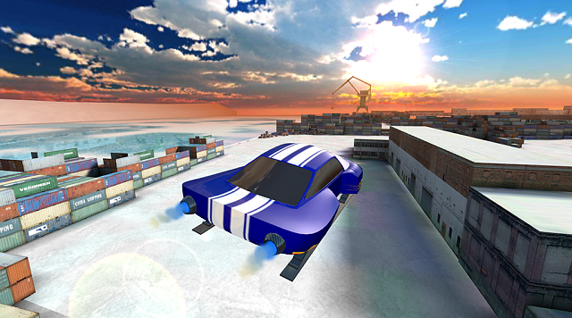 [FREE GAME]Winter Racing: Jet Thrust[3D]-screen_2.png