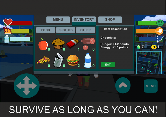 FREE][GAME][ANDROID][5 0+] Hobo life simulator - Android
