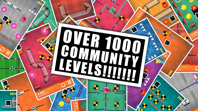 [FREE][GAME][4.0+] Heart Box - physics puzzle (android, ios, wp)-over_1000_community_levels_en.jpg