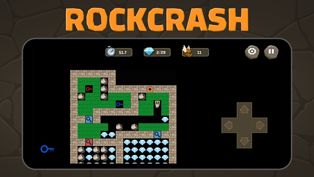 [FREE GAME] Rockcrash - A retro inspired action/puzzle game-iphone55-1.jpg