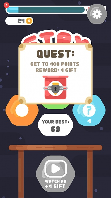 Stay Sticky - casual physics-based game - Feedback?-simulator-screen-shot-iphone-8-plus-2019-09-03-17.21.49.jpg