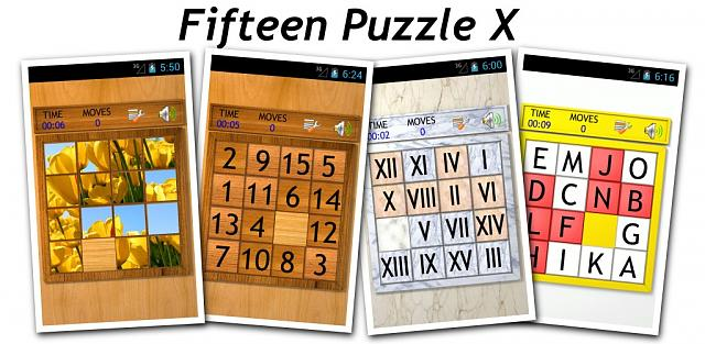 [Free Game] Fifteen Puzzle X 0.15 (Sliding Tile Puzzle )-promotionalbanner.jpg