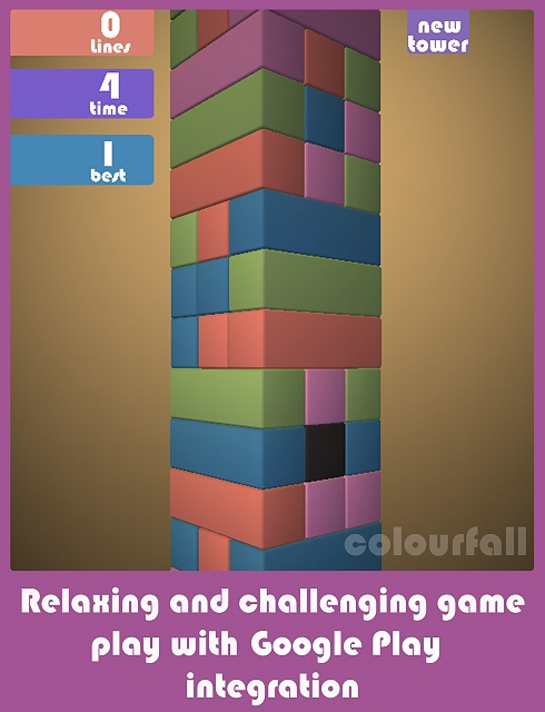 [Free][Game] Colourfall : A match 3 puzzle game -  if Jenga and Tetris had a baby.-colourfall_ipad_3_google.jpg