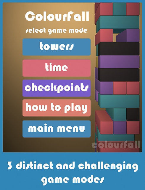 [Free][Game] Colourfall : A match 3 puzzle game -  if Jenga and Tetris had a baby.-colourfall_ipad_2.jpg