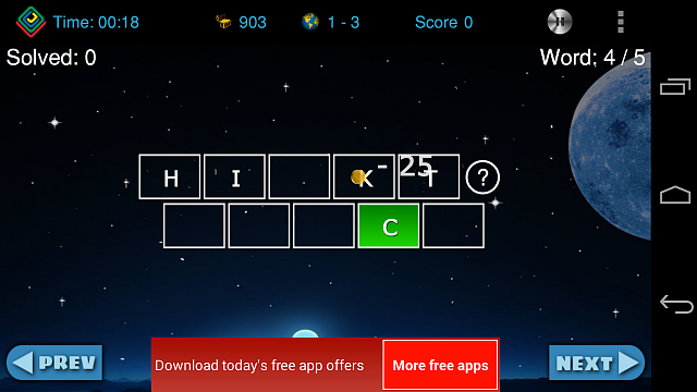 [Free][Game] Vocabul Jumble (Word Jumble) - Our First Android Game-playscreen.8.png