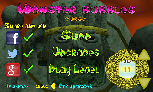 [FREE][GAME]Monster Bubbles Curse-screenshot1.png