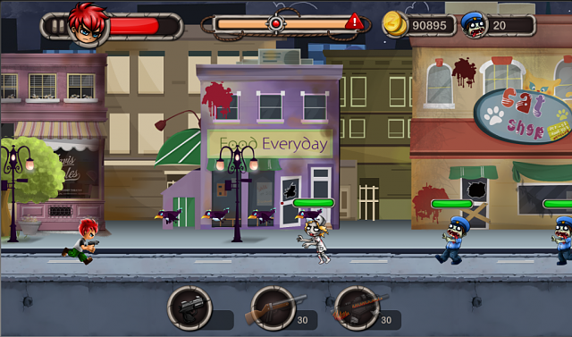Zombies: Run or Kill! FREE Game-city.png