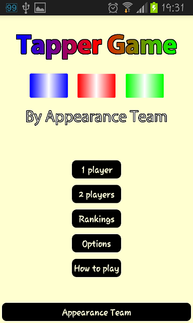 [GAME] Tapper Game, with 8 way to play, multiplayer and online/offline rankings-screenshot_2013-10-06-19-31-22.png