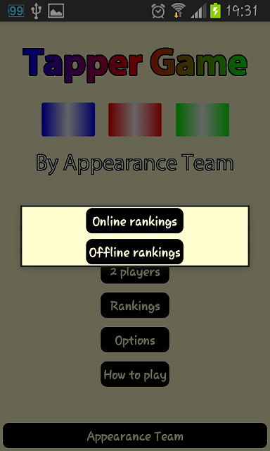 [GAME] Tapper Game, with 8 way to play, multiplayer and online/offline rankings-screenshot_2013-10-06-19-31-54.png