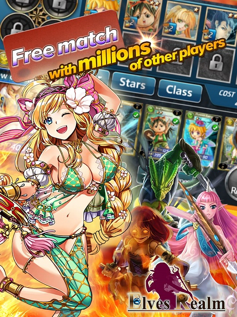 The highest rated Collectible Card Battle Game - 5 stars!!!! ELVES REALM-1379141573403_image.jpg